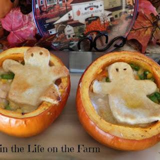 Pumpkin Chicken Pot Pie