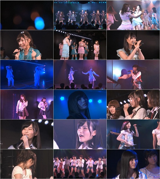 "(LIVE)(公演) AKB48 チームB ""パジャマドライブ"" 福岡聖菜の生誕祭 150827"