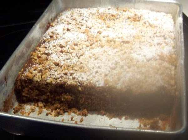 Dust with powdered sugar if desired. along .with or with out crushed nuts. Great with whipped...