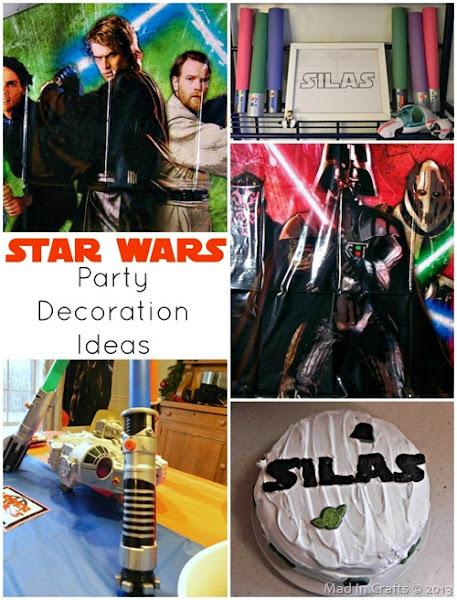 Photo: Star Wars Party Decor Ideas: http://www.madincrafts.com/2013/01/star-wars-party-decorations-ideas.html  #starwarstuesday