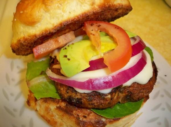 Basic Portobello Burgers Recipe