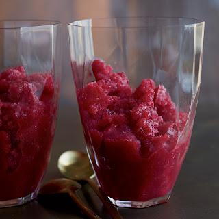 Cranberry Granita