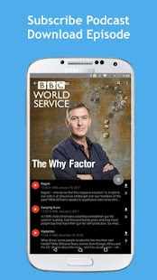 Listening BBC podcasts - BCast- screenshot thumbnail