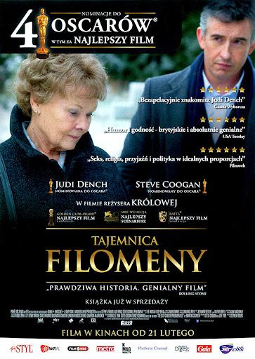 Przód ulotki filmu 'Tajemnica Filomeny'