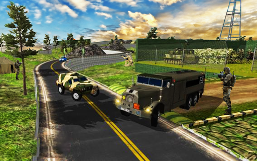 Army Transport Truck Driver : Military Games 2019  screenshots 2