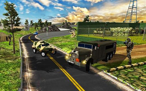 Conducteur de camion de transport de l'armée:  captures d'écran 2