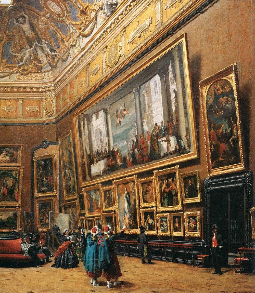 Картины Лувра