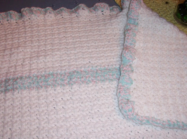 Crochet Baby Blanket From Redheart Recipe