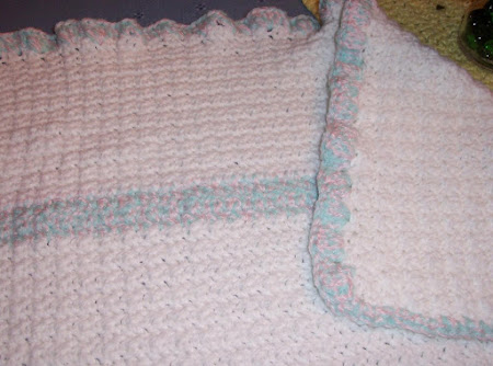 Crochet Baby Blanket from Redheart Recipe