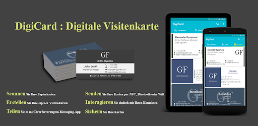 Digicard Digitale Visitenkarte Apk Obb App Kostenloser