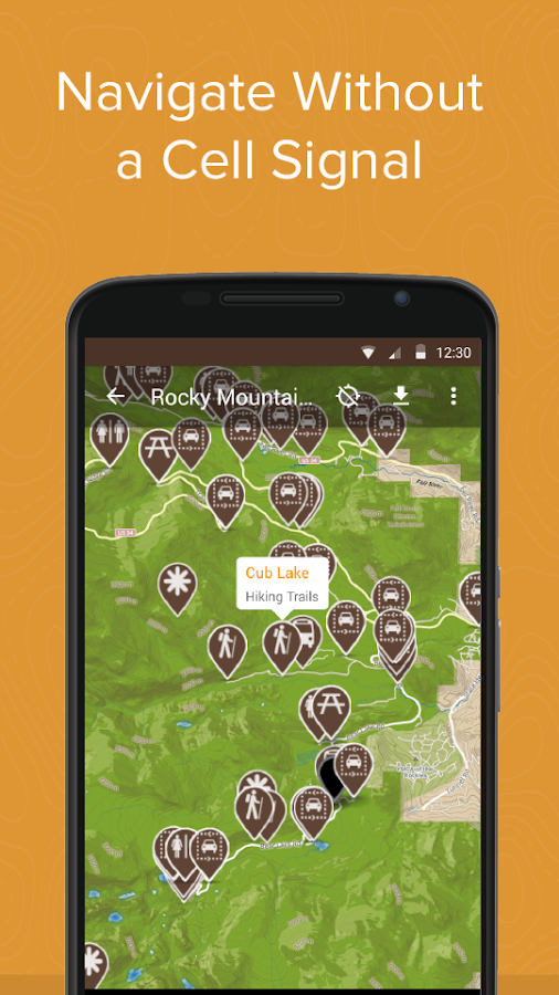 Rocky Mountain NP by Chimani- screenshot