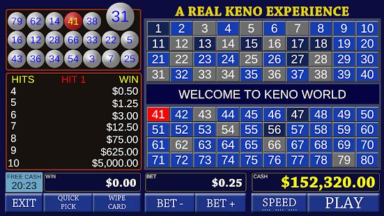 Keno Bonus - Las Vegas Lottery - náhled