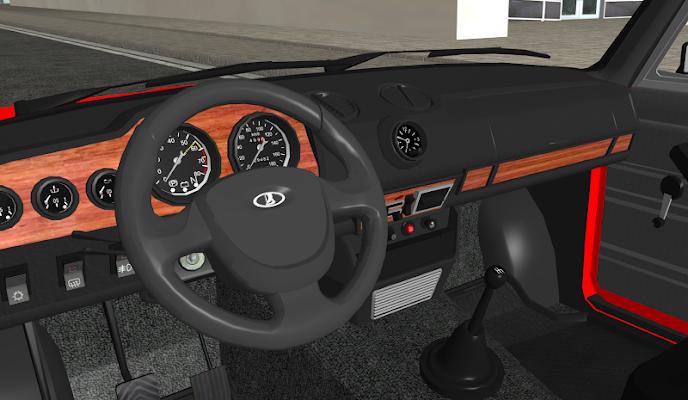 ВАЗ-ТАЗ реальный гонки 3D 2106 - screenshot