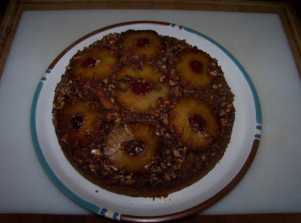 Aunt Darlene's Pineapple Upside Down Cake Recipe