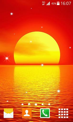 Sunset Live Wallpaper