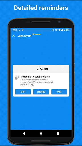 Pill Reminder by MediMate screenshot for Android