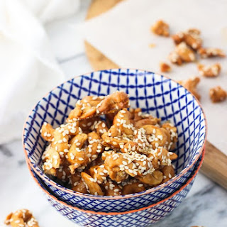 Honey Roasted Sesame Cashew Clusters.