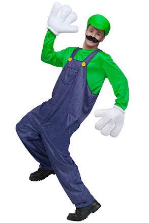 Dräkt, rörmokare grön