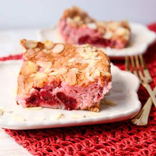 Easy Cherry Almond Cake.
