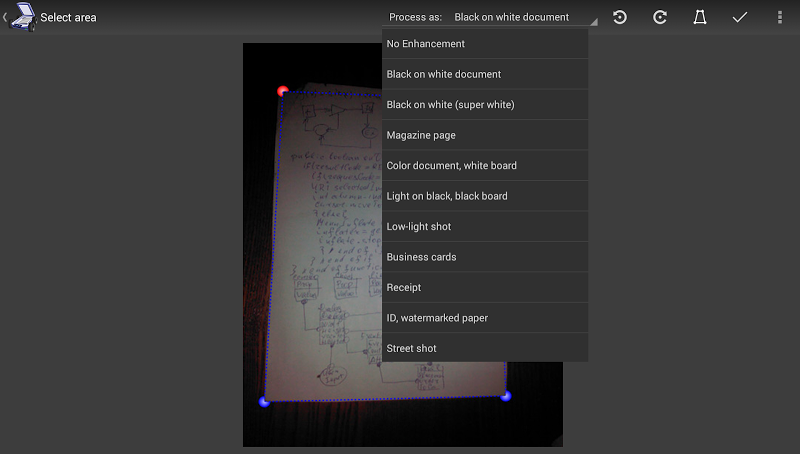 Mobile Doc Scanner (MDScan) + OCR Screenshot 5