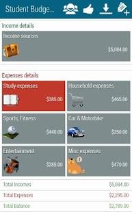 Student Budget Planner- screenshot thumbnail