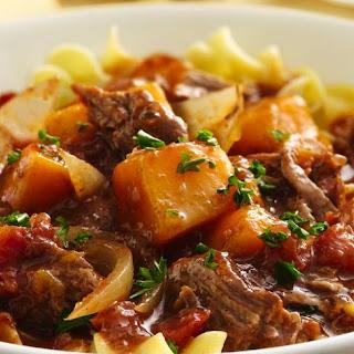 Slow-Cooker Savory Brisket Stew.
