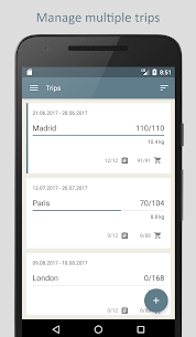 PackTeo – Travel Packing List 1