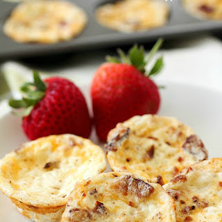 Mini Bacon Egg Muffins