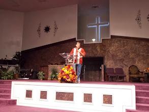 Photo: In Porter, TX, at Triumph Christian Center.