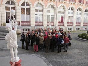 Photo: Cauterets : cour de l'Hôtel Continental
