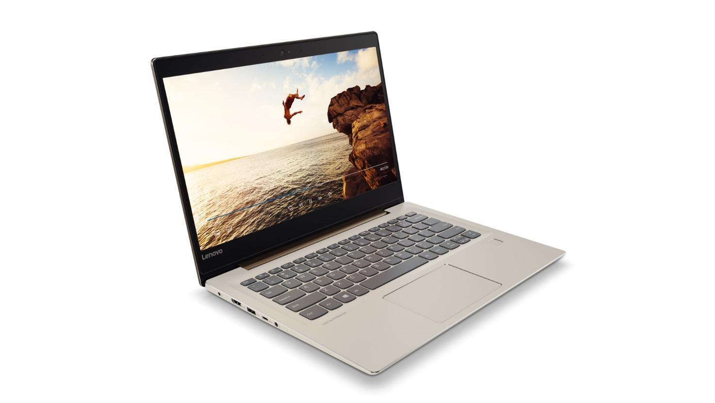 Фото1  Ноутбук LENOVO IdeaPad 520S BROZE (81BL009ARA)