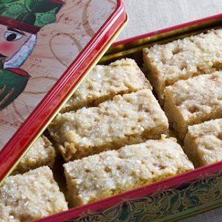 Buttery Vegan Shortbread Cookie.