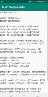 Math Sin Cos Tan Calculator - náhled