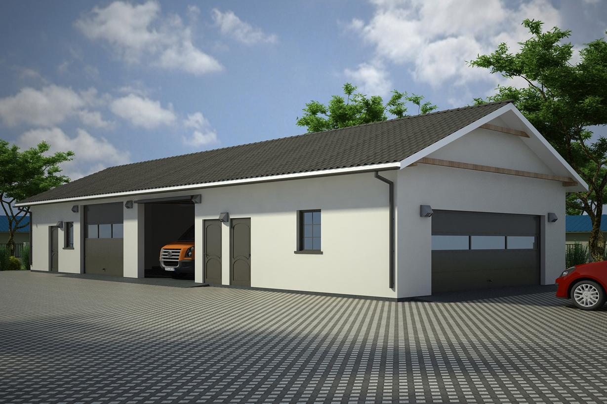 Projekt Garażu G89 Twb 596 15188m²