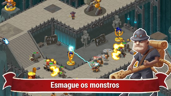 Steampunk Syndicate 2: Tower Defense Game Screenshot