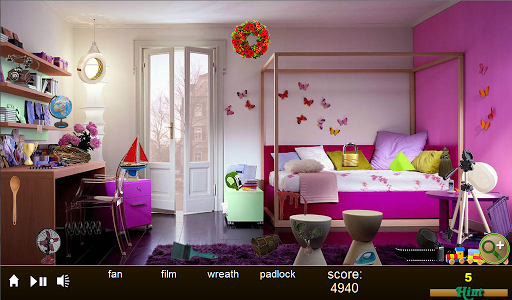 Hidden Object Fancy Rooms