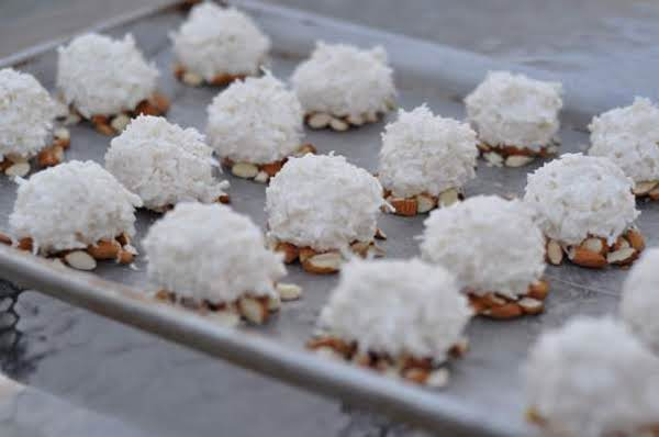 Almond Coconut Christmas Balls Recipe