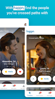 screenshot of happn – Local dating app