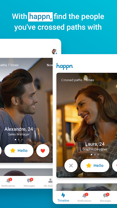 happn – Local dating app screenshots