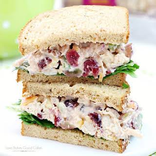 Lighter Chicken Salad Sandwiches.