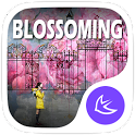 Pink Spring Flowers theme & HD wallpapers icon