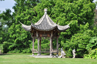 Photo: Chinese pagode RHS gardens Wisley