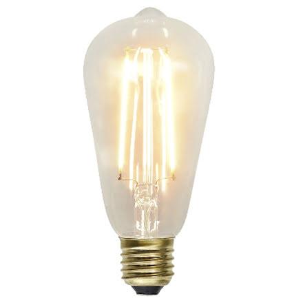 Decoration LED Klar filament bulb E27 2100K 230lm