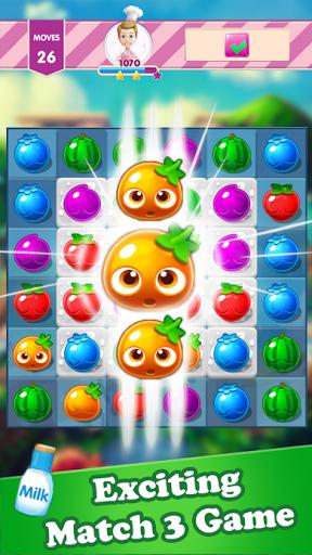 Screenshots von Candy Fruit Splash 6