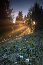 Photo: Fire And Frost, Switzerland  Technical data: Canon EOS 5D, EF 17-40L @ 24mm, f/22, 1.0 seconds, ISO100, Lee ND Grad Filter, Tripod