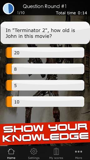 Quiz for the Terminator Movies 1 screenshots 3