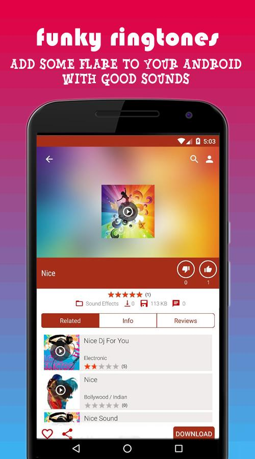 PHONEKY : Free Ringtones, HD & Live Wallpapers- screenshot