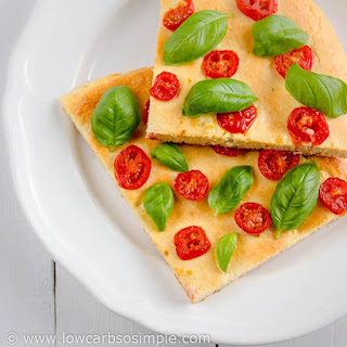 Gluten-Free Low-Carb Flat Bread, Focaccia or Pizza Crust