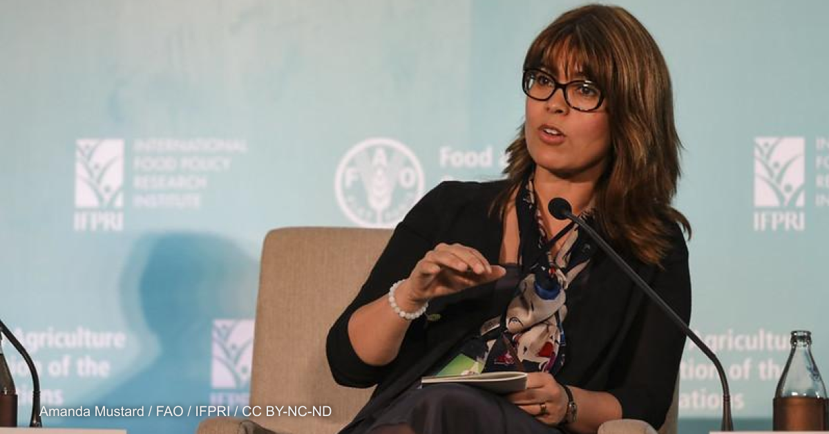 Q&A: FAO's chief scientist talks tech, innovation, and food