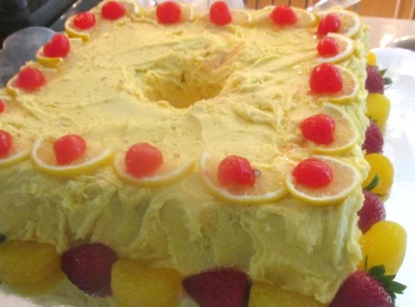 Lemon Frosted Pudding Pound Cake Recipe